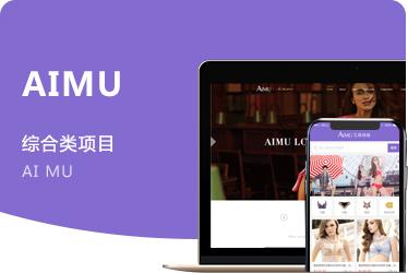 《艾慕》內衣品牌官網定制設計開發 廣州項目